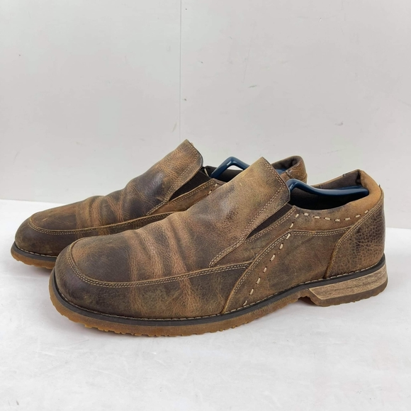 Bed Stu Men's Bomber Shoes low top US 11 leather
